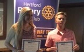 October Rotary Students of the Month